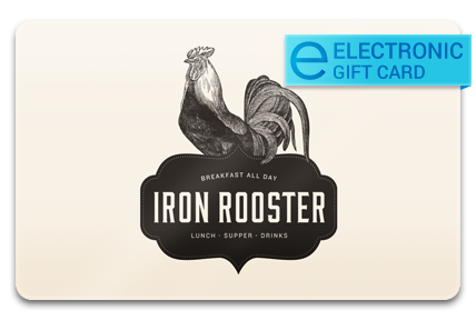 Iron Rooster E-Gift Card